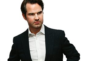 Programme image from Chain Reaction: Episode 1: Jenny Eclair Interviews Jimmy Carr