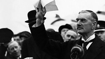 Programme image from Things We Forgot to Remember: Episode 2: Chamberlain and 'Peace for our Time' 1938