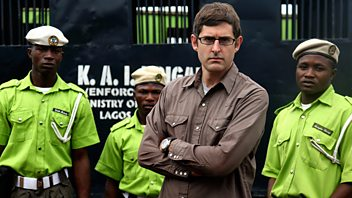 Programme image from Louis Theroux: Law and Disorder in Lagos