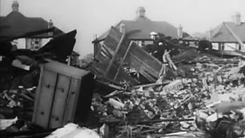 Programme image from After the Battle: London - Ed Murrow Reports