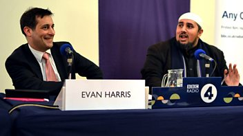 Programme image from Any Questions?: Esther McVey, Toby Young, Mohammed Ansar, Evan Harris