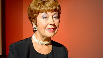 Programme image from Woman's Hour: Lindsey Bareham Cooks the Perfect Trifle: Ruth Madoc; Older Models