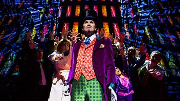 Programme image from Front Row: Charlie and the Chocolate Factory; Lee Hall; Arts Funding