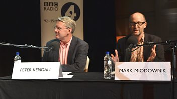 Programme image from Any Questions?: Mark Miodownik, Iain Dale, Peter Kendall, Alison Wolf