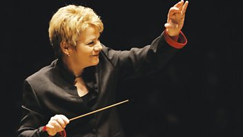 Programme image from Front Row: Conductor Marin Alsop, Philip French, Jean Seberg, returning TV series