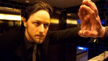 Programme image from Front Row: James McAvoy in Filth; Dizzee Rascal; director Lucy Walker; young Poets Laureate