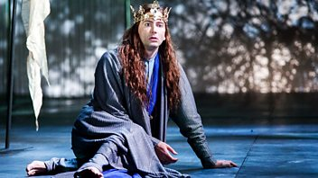 Programme image from Saturday Review: David Tennant as Richard II; The Goldfinch; Enough Said