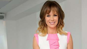 Programme image from Woman's Hour: Amanda Holden; Vicky Pryce; Extraordinary women of the 'fifties