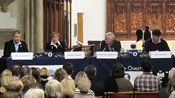 Programme image from Any Questions?: Norman Baker, Angela Eagle, Paul Goodman, Nick Cohen