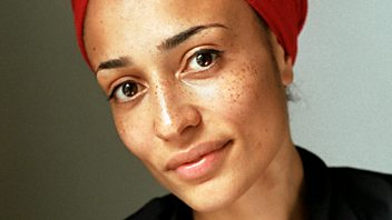 Programme image from Front Row: Zadie Smith; Actors and audio books; nut; Lady Gaga