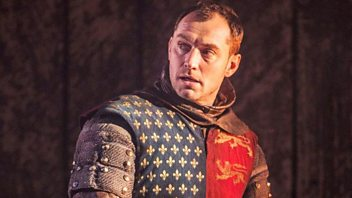 Programme image from Front Row: Jude Law in Henry V; Atiq Rahimi; Politicians and music; 28 Up South Africa