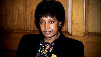 Programme image from Woman's Hour: Winnie Mandela; Ulrika Jonsson
