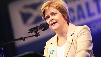 Programme image from Woman's Hour: Nicola Sturgeon; Jung Chang; Gone With the Wind