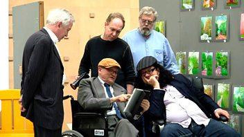 Programme image from Front Row: Christos Tsiolkas, Tim's Vermeer, Maxim Vengerov, new US TV cop dramas