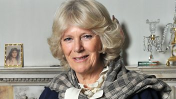 Programme image from Woman's Hour: Duchess of Cornwall on Shakespeare; Women in comedy; Teaching consent; Living to Over 100