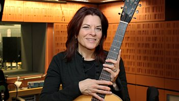 Programme image from Woman's Hour: Weekend Woman's Hour; Rosanne Cash; When Fraser Met Billy; Growing up in care