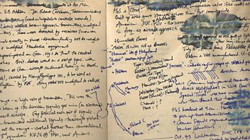Programme image from Free Thinking: Writers and their notebooks