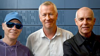 Programme image from Front Row: Pet Shop Boys, Ian Hislop on Great Britain, Romesh Gunesekera, ENO cuts