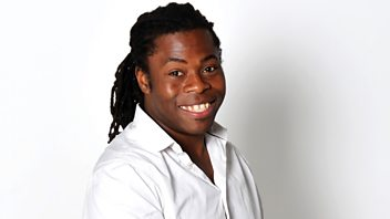 Programme image from A Good Read: Ade Adepitan and Dominic Holland