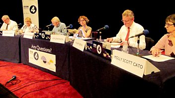 Programme image from Any Questions?: Hilary Benn MP, Patrick McLoughlin MP, Molly Scott Cato MEP, Maxine Aldred