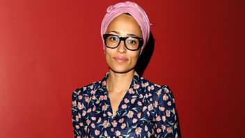 Programme image from Front Row: Zadie Smith, Ryan Adams, Exhibit B, The Art of the Brick