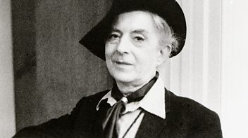 Programme image from Witness History: The Death of Quentin Crisp