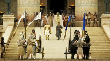 Programme image from Front Row: Ridley Scott's Exodus, Serial, The Shoemaker's Holiday, Annie