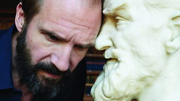 Programme image from Front Row: Ralph Fiennes in Man and Superman, Historic England, Miranda July