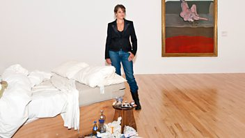 Programme image from Front Row: Tracey Emin, Blade Runner, Stan Tracey, Museum Sale Controversy
