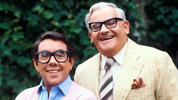 Programme image from Talking Comedy: The Two Ronnies