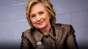 Programme image from Woman's Hour: Hillary Clinton, Patricia Duncker