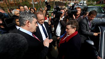Programme image from Election Snapshots: 2010 Gordon Brown