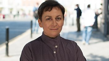 Programme image from Free Thinking: Anne Enright, The Economics of Psychological Therapy, Christopher Hampton