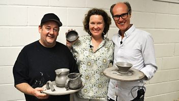 Programme image from Will Gompertz Gets Creative: Episode 3: Pottery