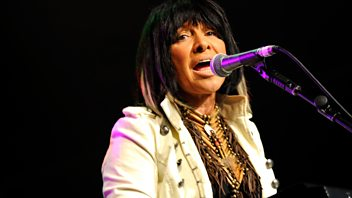 Programme image from Woman's Hour: Buffy Sainte-Marie, Health tests, Crime writer Margery Allingham