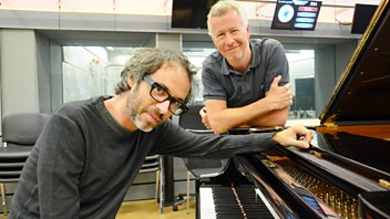 Programme image from Front Row: Pianist James Rhodes talks to John Wilson