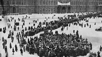 Programme image from Witness History: 06/11/2015 00:20 GMT: The Russian Revolution: Alexander Kerensky