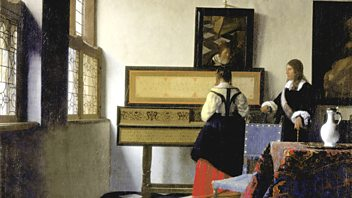 Programme image from Front Row: Dutch Artists in the Age of Vermeer, Vikram Seth, The Last Panthers
