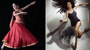 Programme image from The Conversation: Choreographers: Aditi Mangaldas and Jasmin Vardimon
