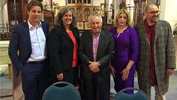 Programme image from Any Questions?: Heidi Alexander MP, Jeremy Banx, Penny Mordaunt MP, Fraser Nelson