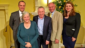 Programme image from Any Questions?: Ken Livingstone, Alison McGovern MP, Dominic Raab MP, Ann Widdecombe