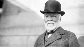 Programme image from Great Lives: Andrew Carnegie