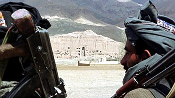 Programme image from Witness History: The destruction of the Bamiyan Buddhas