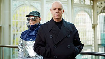 Programme image from Front Row: Pet Shop Boys Neil Tennant and Chris Lowe