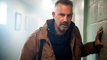 Programme image from Front Row: Kevin Costner in Criminal, Kenneth Branagh, The Comedy About A Bank Robbery, Laika the spacedog