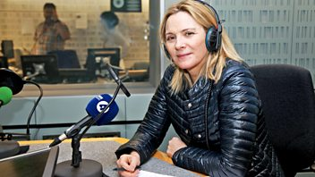 Programme image from Woman's Hour: Kim Cattrall, Changing coercive behaviour, Dementia carers