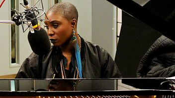 Programme image from Woman's Hour: Weekend Woman's Hour: Laura Mvula, EU referendum, Kim Cattrall