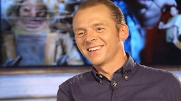 Programme image from Movies With Ali Plumb: Simon Pegg: Movies That Made Me