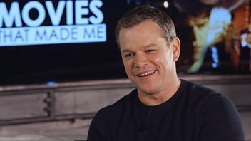 Programme image from Movies With Ali Plumb: Matt Damon: Movies That Made Me