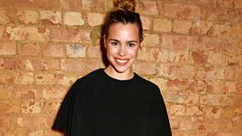 Programme image from Woman's Hour: Actress Billie Piper, Samia Shahid, Women-only addiction clinics